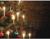 Candles on a Christmas Tree
